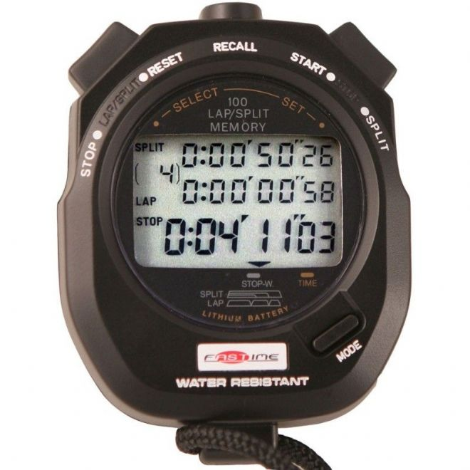 Saturn Stopwatches - 100 Lap Memory - Fastime 10 Stopwatch
